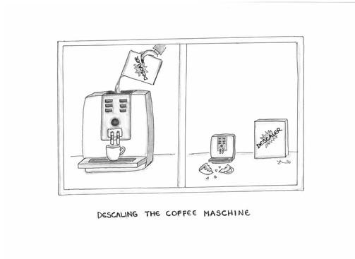 Descaling the Coffee Machine