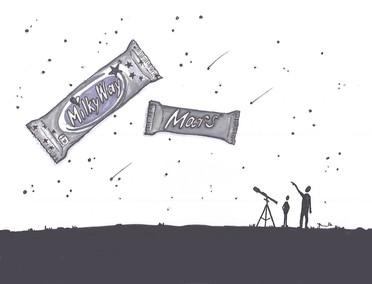 Milky Way & Mars