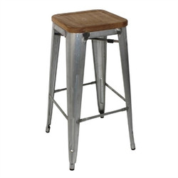 Bolero Stool Galvanised