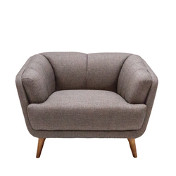Toorak Tub Chair Brown