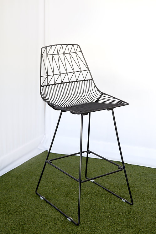 Arrow Stool Black