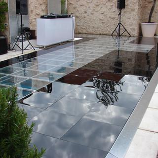 Clear Pool Dancefloor Cover