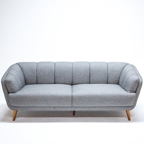 Toorak Lounge 2.5 seater silver