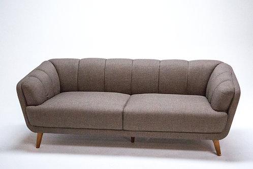 Toorak Lounge Brown 2.5 seater