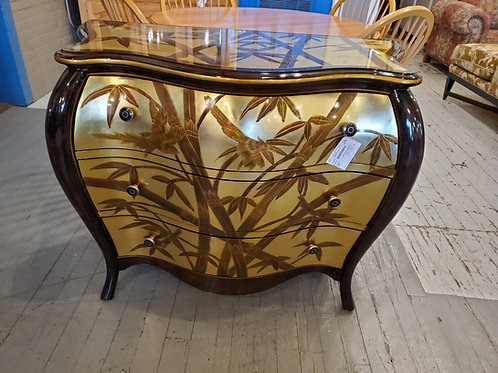 Lacquered Chest Bamboo with Birds