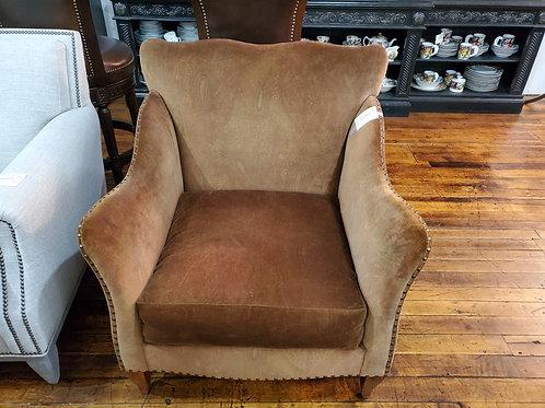 Jefco Furniture Nailhead Lounge Chair