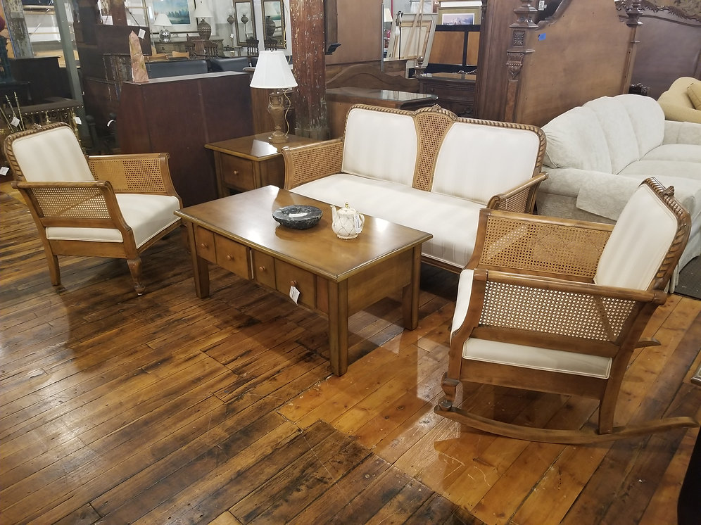 Three Piece French Style Living Room Set