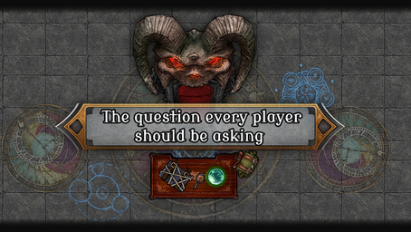 The single most important question every player should be asking, often