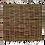 Thumbnail: Haselnusszaun, Flechtzaun ohne Rahmen 1,8m*1,8m