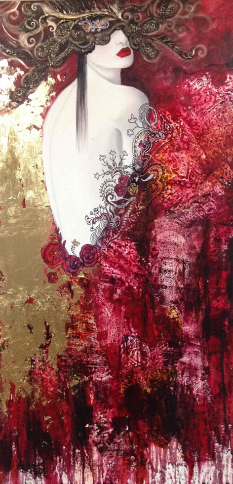 Golden lady edited - 60x120