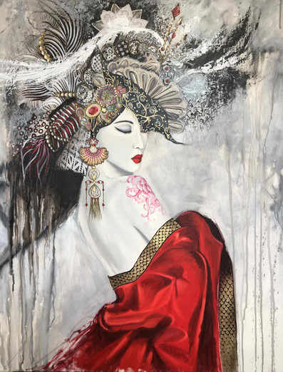 Belle d'asie - 73x60