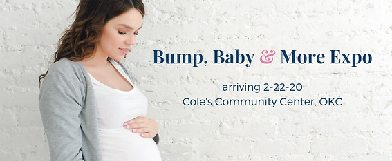 Save the date_Bump, Baby & More Expo2020