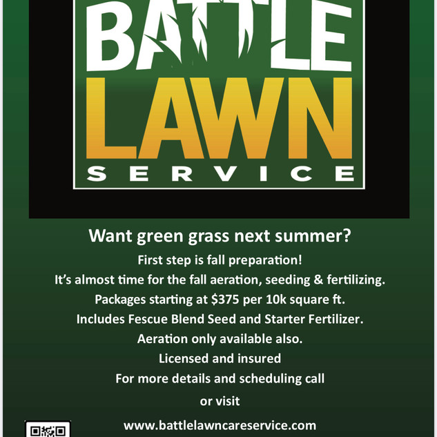 Battle Lawn Service