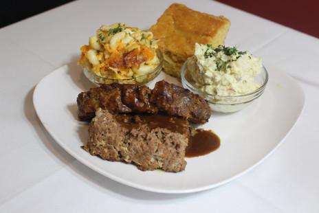 Homemade Meatloaf Platter