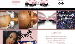 Mari'J Lashes Lash technician in Richmond, VA.