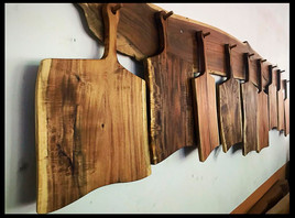 Hanging chopping boards