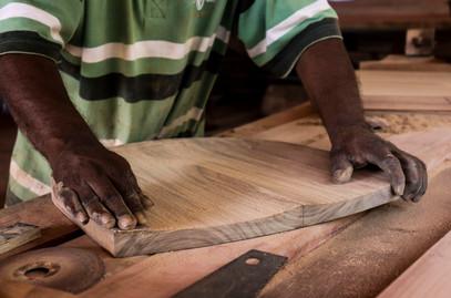 Hand sanding for utmost precision