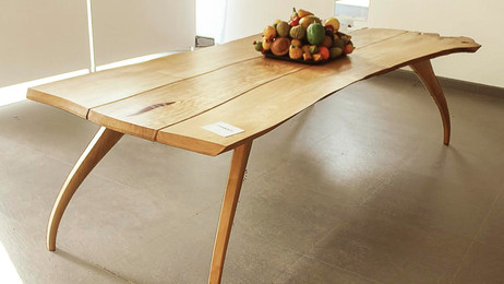 Transformation wood - 3 planks table