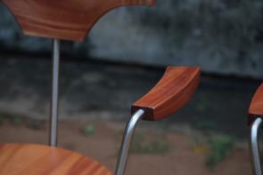 Arne's chair - detail