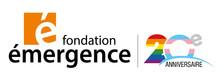 Logo_20e_anniversaire_Fondation_Émerge
