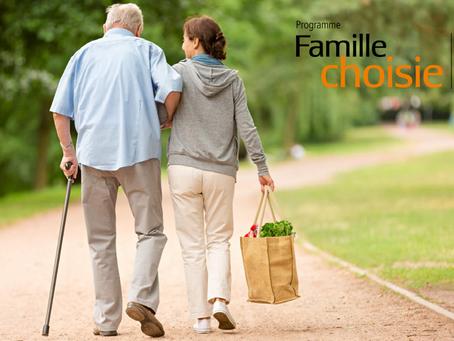Semaine nationale des proches aidant.e.s avec son programme Famille choisie!