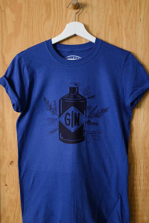 T-Shirt GIN bleu