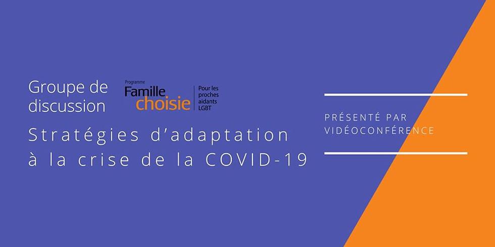 Stratégies d'adaptation à la crise de la COVID-19