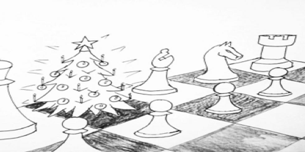 Schachjugend Advents-Schnellschach-Turnier und Advents-Beisammensein.