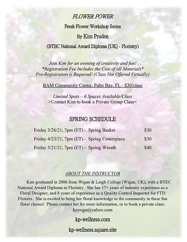 Flower Power at BAM Community