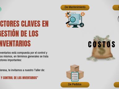 TRES FACTORES CLAVES EN LA GESTIÓN DE LOS INVENTARIOS