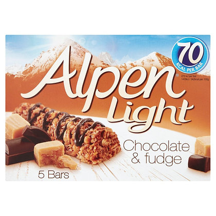 Alpen 5 x 19 Light Choc & Fudge