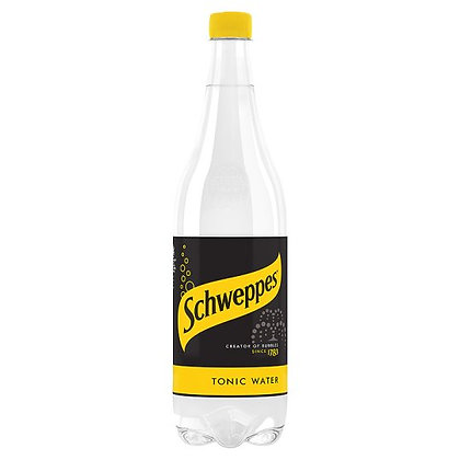 Schweppes 1ltr Tonic Water
