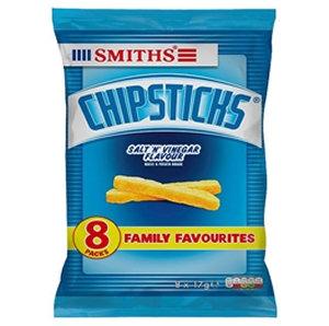 Smiths 8pk Salt & Vinegar Chips