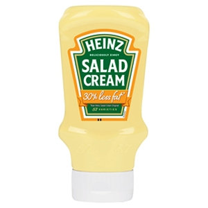 Heinz 415g Top Down Lid Salad Cream 30% Less Fat