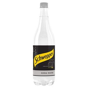 Schweppes 1lt Soda Water