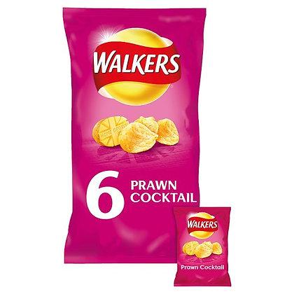 Walkers 6 x 25 Prawn Cocktail Crisps