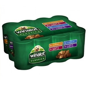 Winalot 12 * 4 Classics Dog Food