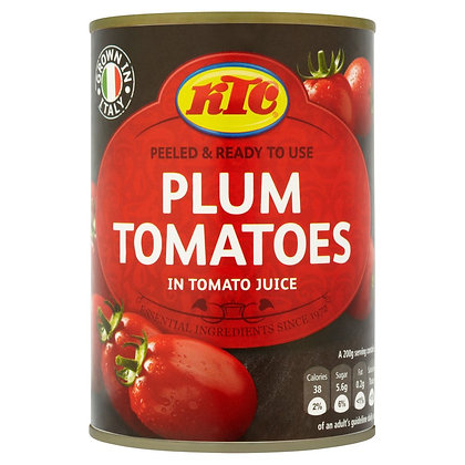 KTC 400g Plum Tomatoes