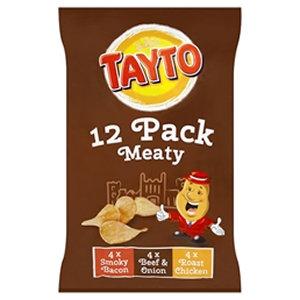 Tayto 12pk Meaty Flavour