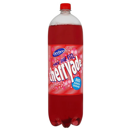 GeeBee 2ltr Cherryade No Added Sugar