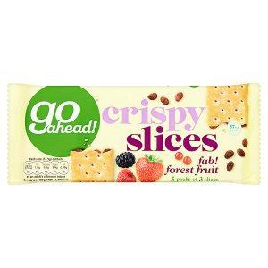 Go ahead! 218g Forest Fruit Crispy Slices