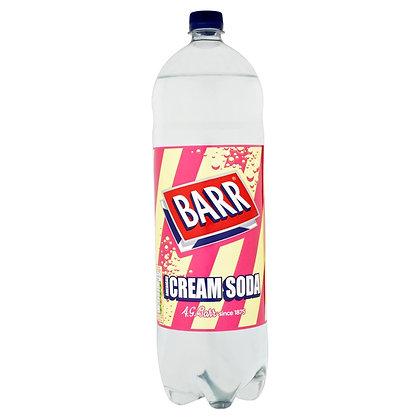 Barrs 2ltr Cream Soda