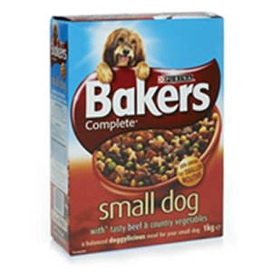 Bakers 1kg Small Dog Complete