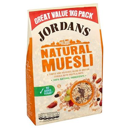 Jordan's 1KG Natural Muesli