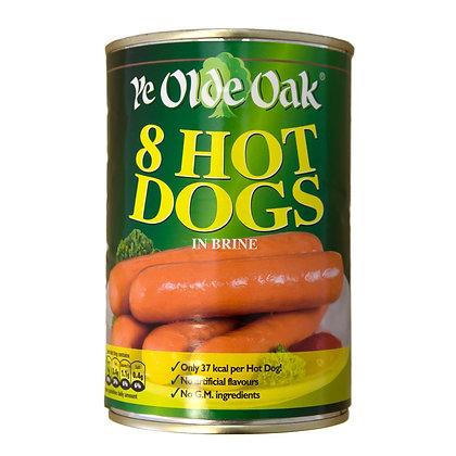 Ye Olde Oak 8pk Hot Dogs