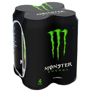 Monster 4pk Original Cans