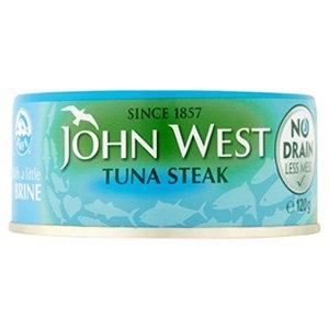John West 120g in Brine No Drain Tin