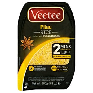 Veetee 280g Pilau Rice