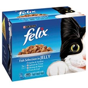 Felix 12 1 Pouch Fish Selection