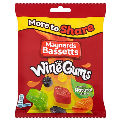 Maynards Basset 400g Wine Gums